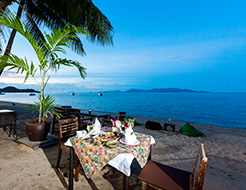 Beachside Dining Samui